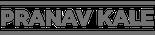 Pranav Kale Logo